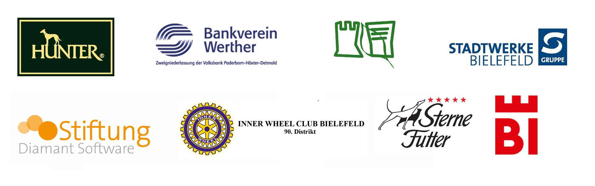Logos der Förderer des Bauernhausmuseums