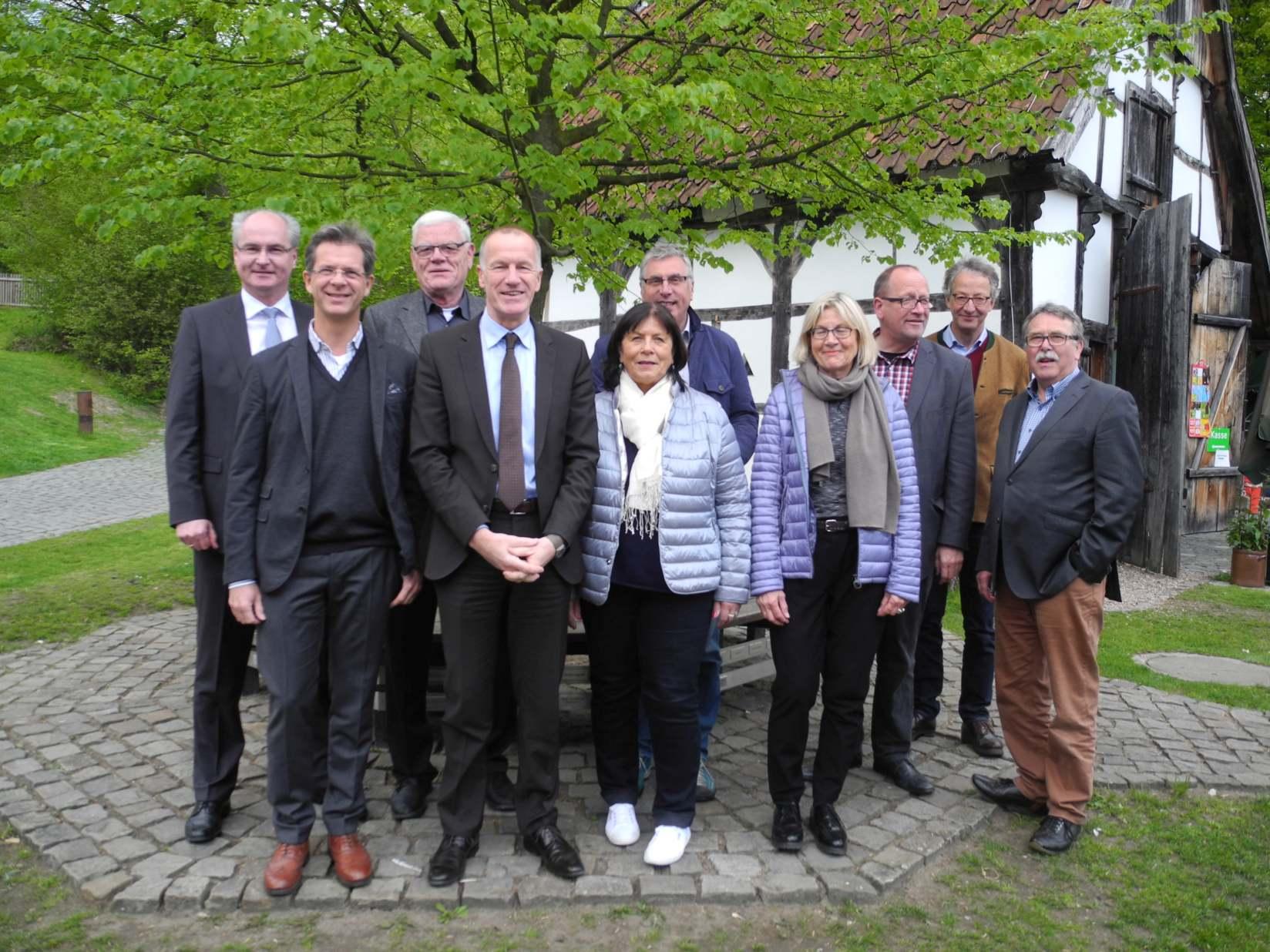 Vorstand der Stiftung Bauernhausmuseum 2017